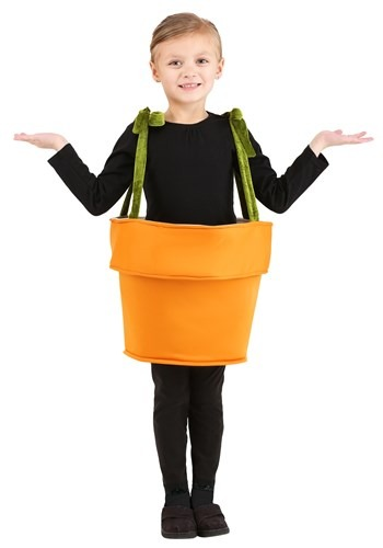 Flower Pot Costume for Toddlers