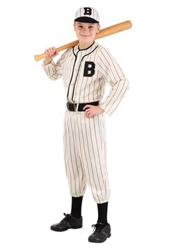 Child Vintage Baseball Costume1