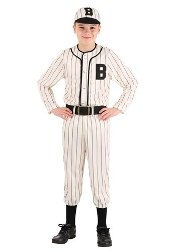 Vintage Child Baseball Costume