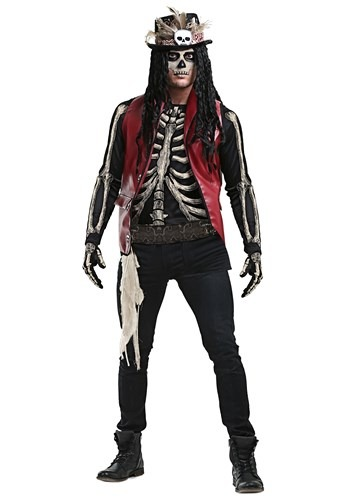 Click Here to buy Plus Size Voodoo Doctor Mens Costume from HalloweenCostumes, CDN Funds & Shipping