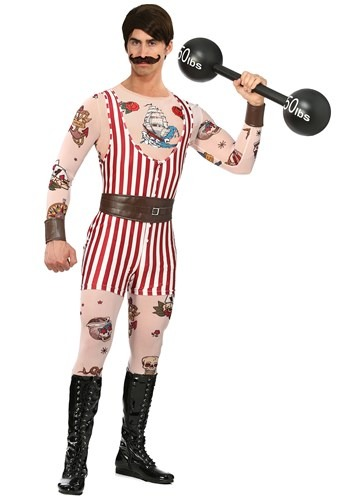 Click Here to buy Plus Size Vintage Strongman Mens Costume from HalloweenCostumes, CDN Funds & Shipping