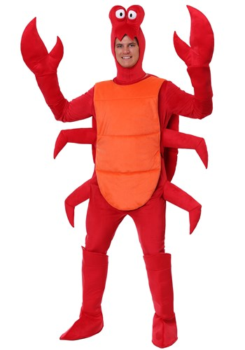 Click Here to buy Plus Size Mens Crab Costume from HalloweenCostumes, CDN Funds & Shipping