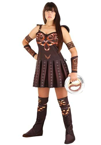 Plus Size Womens Xena Warrior Princess Costume
