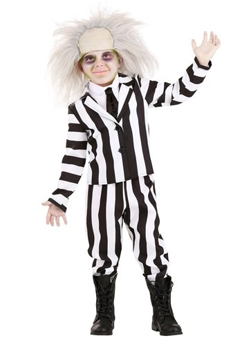 Click Here to buy Toddlers Beetlejuice Costume from HalloweenCostumes, CDN Funds & Shipping