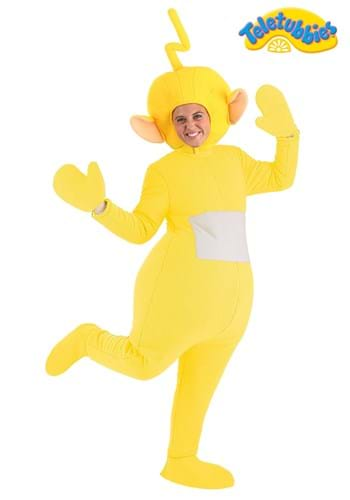 Adult Plus Size Laa-Laa Teletubbies Costume