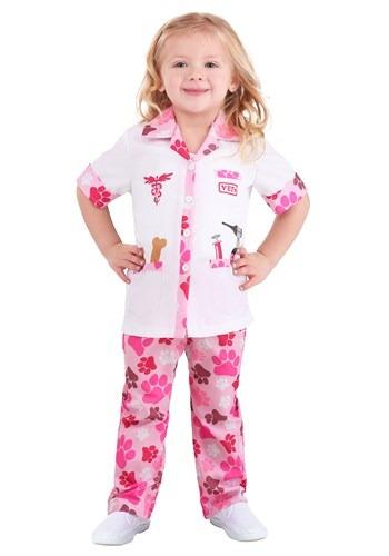 Girls Veterinarian Toddler Costume