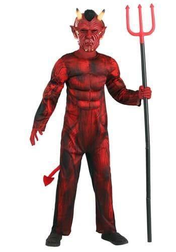 Kids Brawny Devil Costume