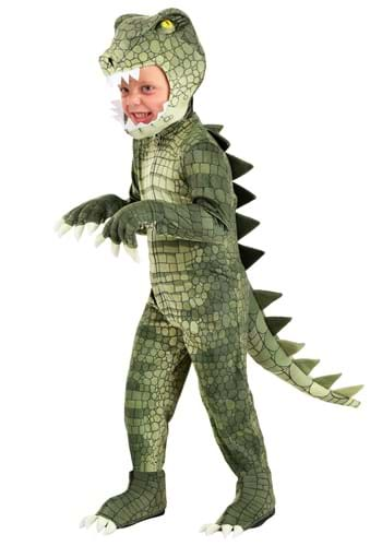 Click Here to buy Toddlers Dangerous Alligator Costume from HalloweenCostumes, CDN Funds & Shipping