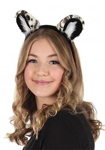 Snow Leopard Deluxe Ears Headband