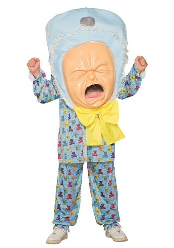 Click Here to buy Big Baby Head Adult Costume from HalloweenCostumes, CDN Funds & Shipping