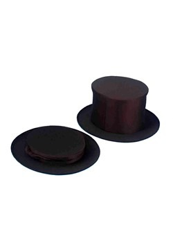 Child Collapsible Black Top Hat Accessory