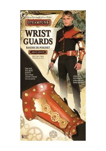 Steampunk Mens Wrist Guards Accessory