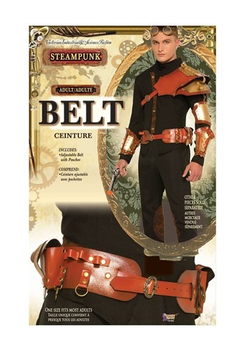 Click Here to buy Mens Steampunk Belt Accessory from HalloweenCostumes, CDN Funds & Shipping