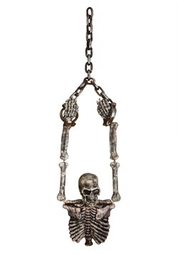 Hanging Skeleton Torso Decoration