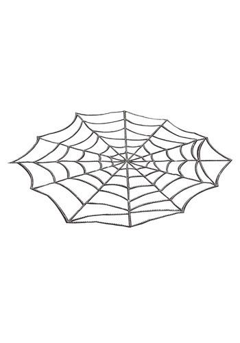 "54"" x 72"" Rhinestone Spider Web Table Cover Decoration"