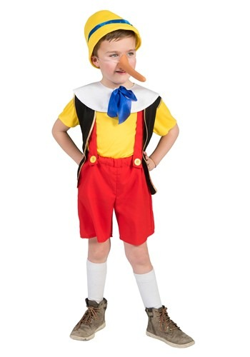 Click Here to buy Kids Pinocchio Costume from HalloweenCostumes, CDN Funds & Shipping