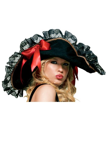Click Here to buy Sexy Pirate Hat from HalloweenCostumes, CDN Funds & Shipping