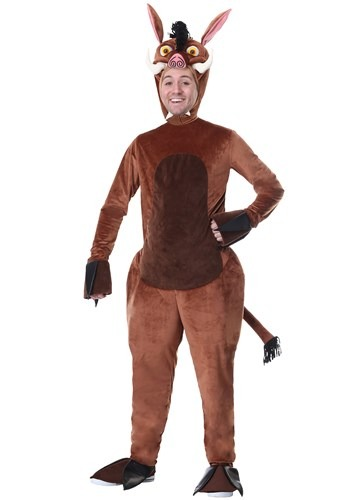 Plus Size Warthog Costume for Adults