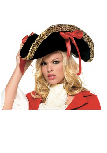 Click Here to buy Ladies Pirate Hat from HalloweenCostumes, CDN Funds & Shipping