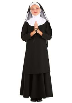Kid's Deluxe Nun Costume Main UPD