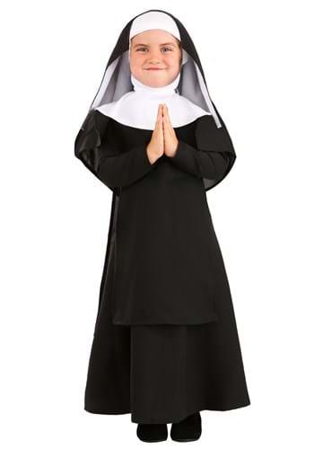 Deluxe Toddler Nun Costume