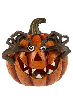 Light Up Whimsy Jack-O-Lantern Figurine