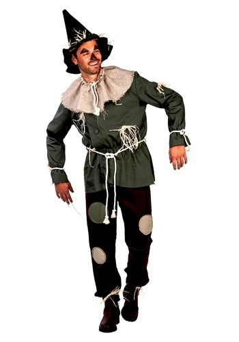 Click Here to buy Adult Wizard of Oz Scarecrow Costume from HalloweenCostumes, CDN Funds & Shipping