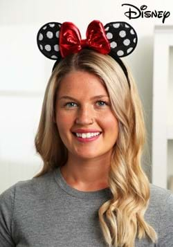 Minnie Mouse Polka Dot Sequined Ears Headband