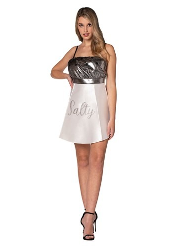 Click Here to buy Salty Salt Shaker Dress Womens Costume from HalloweenCostumes, CDN Funds & Shipping