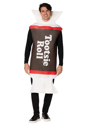 Click Here to buy Adult Tootsie Roll Costume from HalloweenCostumes, CDN Funds & Shipping