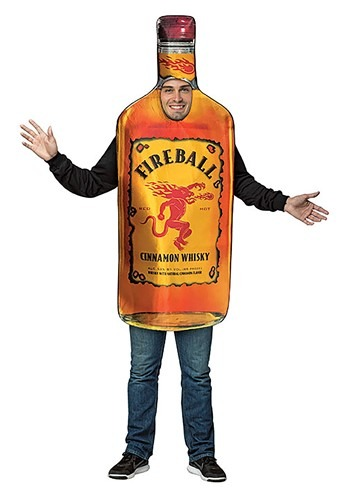 Fireball Bottle Adult Size Costume