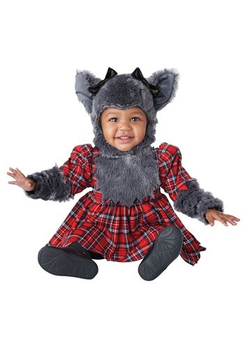 Click Here to buy Teeny Weeny Werewolf Baby Costume from HalloweenCostumes, CDN Funds & Shipping