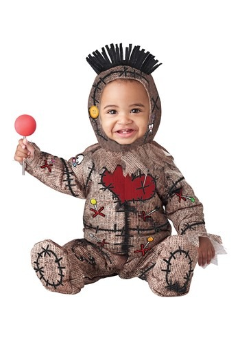 Click Here to buy Voodoo Baby Doll Baby Costume from HalloweenCostumes, CDN Funds & Shipping