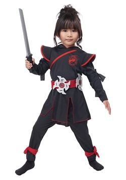 Girl's Lil' Ninja Girl Costume