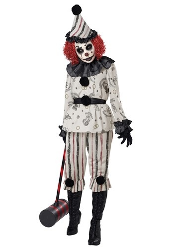 Creeper Clown Adult Size Costume