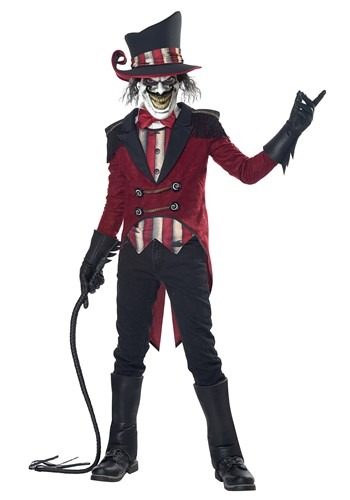 Click Here to buy Wicked Ringmaster Boys Costume from HalloweenCostumes, CDN Funds & Shipping