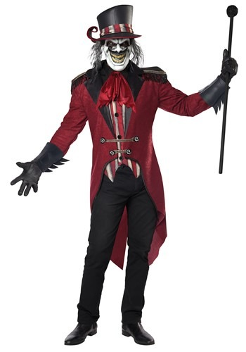 Click Here to buy Wicked Ringmaster Mens Costume from HalloweenCostumes, CDN Funds & Shipping