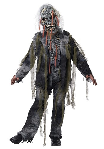 Click Here to buy Worm Wishes From The Grave Kids Costume from HalloweenCostumes, CDN Funds & Shipping