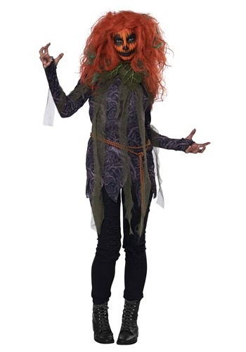 Pumpkin Monster Womens Costume