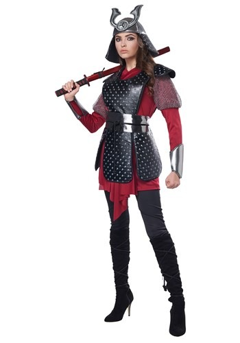 Click Here to buy Samurai Warrior Womens Costume from HalloweenCostumes, CDN Funds & Shipping