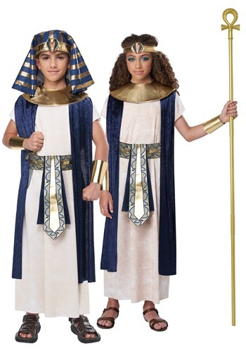 Click Here to buy Egyptian Tunic Kids Costume from HalloweenCostumes, CDN Funds & Shipping