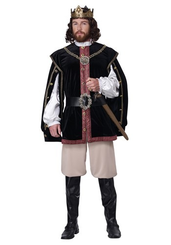 Elizabethan King Mens Costume