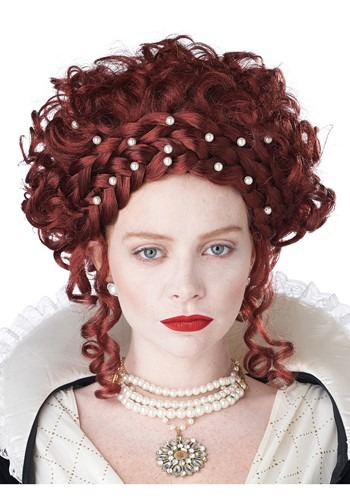 Click Here to buy Elizabethan Womens Wig from HalloweenCostumes, CDN Funds & Shipping