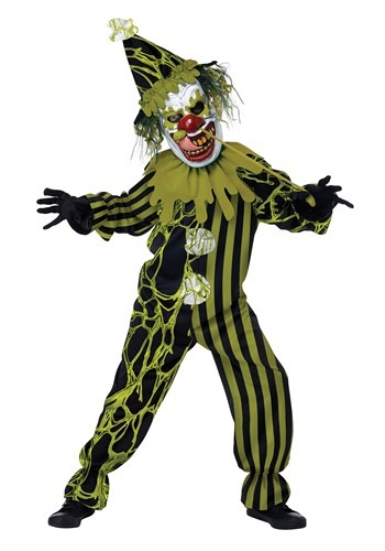Boogers The Clown Boys Costume
