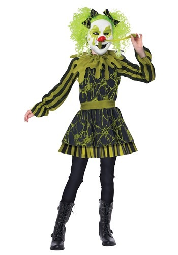 Snots Of Fun Girls Clown Costume