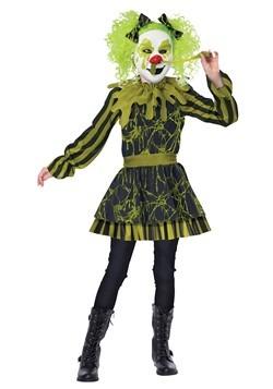 Girl's Snots Of Fun Clown Costume
