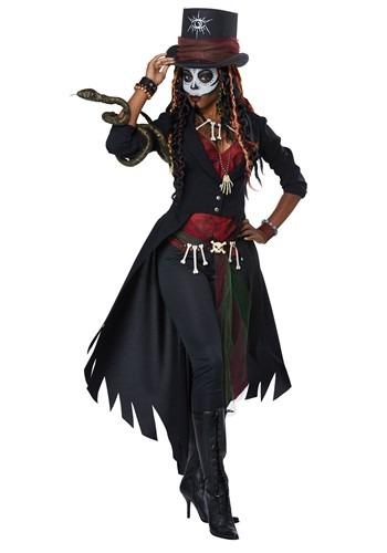 Women's Plus Size Voodoo Magic Costume