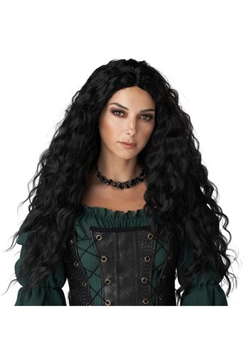 Click Here to buy Black Renaissance Womens Wig from HalloweenCostumes, CDN Funds & Shipping