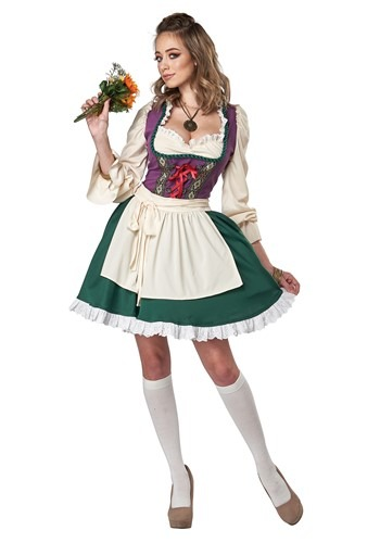 Click Here to buy Beer Garden Girl Womens  Costume from HalloweenCostumes, CDN Funds & Shipping