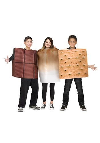 Click Here to buy SMores Kids Costume from HalloweenCostumes, CDN Funds & Shipping